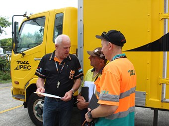 Mental health training program to assist transport workers