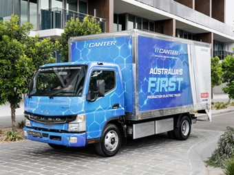 Fuso unleashes eCanter on the Australian market