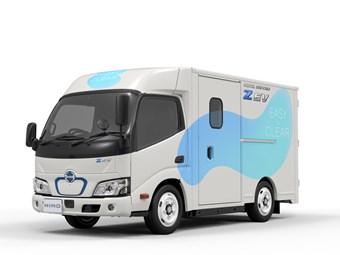 Le petit véhicule électrique Hino devrait être lancé en 2022