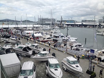 Counting down to the Auckland on Water Boat Show 2014