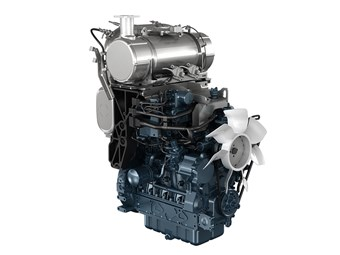 Kubota meets emission standards on entire diesel engine range