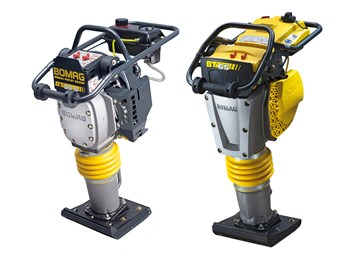Bomag brings out two low-weight vibratory tampers