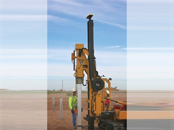 Navigate-to-hole guidance now part of Carlson piling system