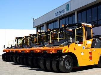 NSW Govt buys six Bomag multi-tyred rollers