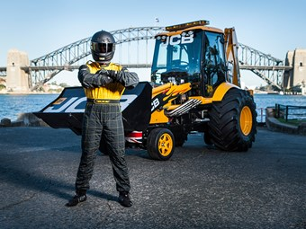 JCB GT backhoe now officially the world's fastest