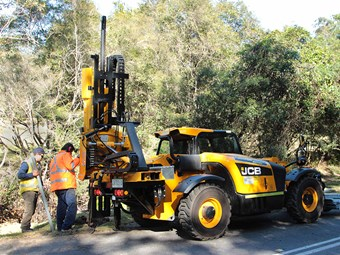 Case study: Innovative JCB-Orteco combo makes guardrail work easier