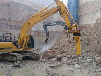 Atlas Copco EC hammers now available for hire