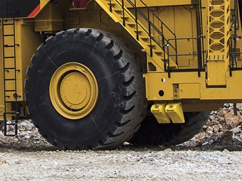 Dawson mine worker killed by exploding tyre