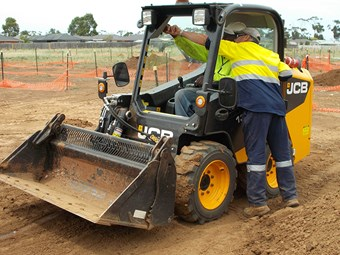 Equipment focus: training safely on JCB 135W skid-steers