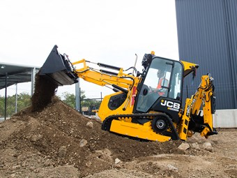 JCB 1CXT adds tracks to mini backhoe loader