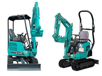 New Kobelco mini excavators aimed at tradies and rental market