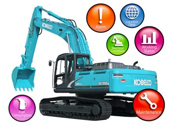 Kobelco Geoscan system simplifies fleet tracking