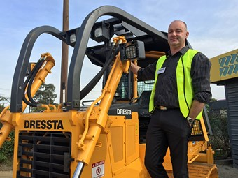 Dressta extends Aussie reach through Onetrak