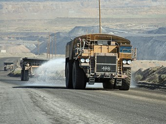 Alliance to streamline mine haul road dust control
