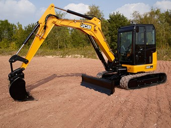 The 6.7-tonne 65R-1 is JCB's new midi excavator