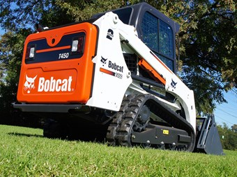 Bobcat brings T450 compact track loader to Aus