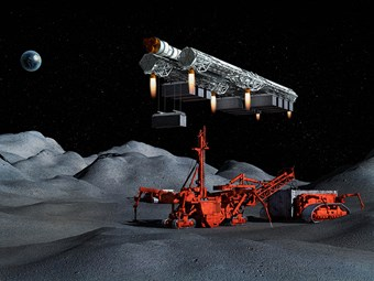 Space: the final mining frontier