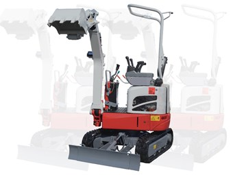 Takeuchi TB210R mini excavator adds power, keeps size