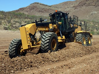 New Cat 16M3 grader is a mean machine
