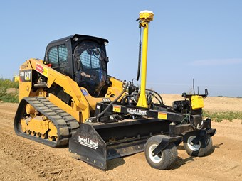 Trimble 3D machine control comes to skid steer loaders