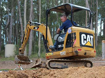 Equipment focus: Cat 301.8C and 301.7D excavators