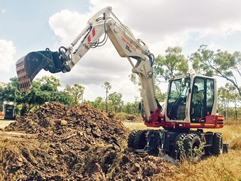 Equipment focus: Takeuchi TB295W wheeled excavator