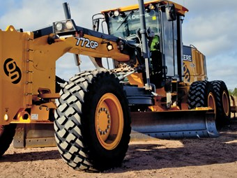 Equipment focus: John Deere 772GP grader