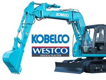Westco Trucks to sell Kobelco excavators