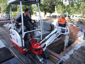 Equipment focus: Takeuchi TB216 excavator