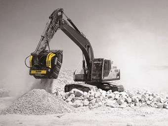 MB BF 80.3 crusher bucket joins Boss Attachments lineup