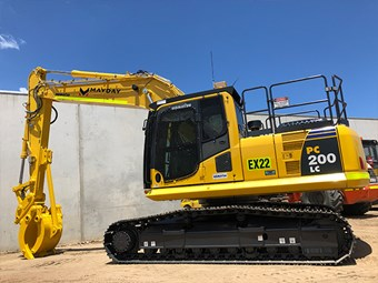 Product focus: Komatsu on the job for Mayday Services