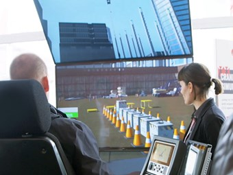 Product focus: Manitowoc cranes training simulators