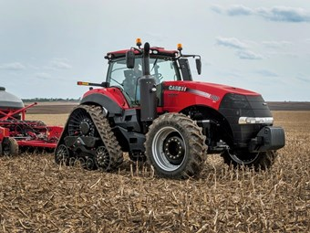 Case IH introduces Magnum Rowtrac tractors