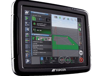 Topcon X25 console completes X ag-range