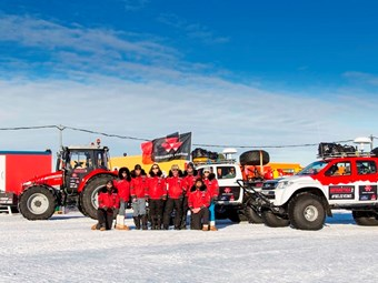 Antarctica2 expedition to repeat historic feat with Massey Ferguson