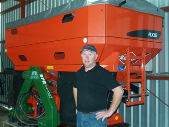 New Kuhn spreader does the job for Dookie farmer