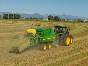 John Deere rolls out new square balers