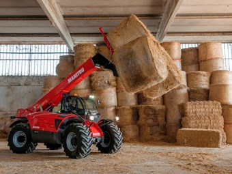 Manitou releases new farm-spec telescopic handler