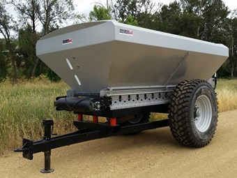 Local spreader design makes official debut