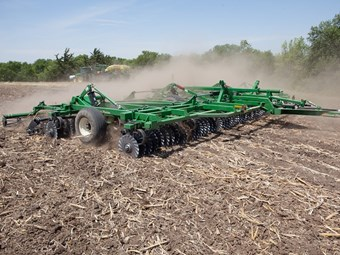 New Great Plains vertical tillage tool offers effective weed control