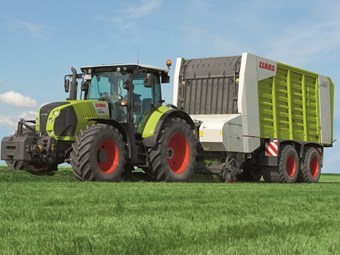 "Claas adds ""most efficient"" CVT to popular Arion range"