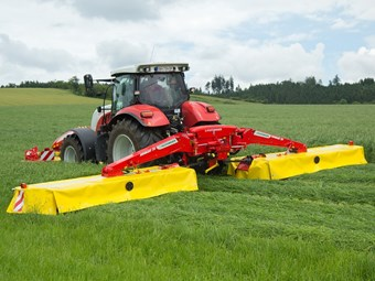 Poettinger rolls out 'fuel saver' Novacat S10 mower
