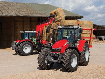 Five new MF5600 tractors from Massey Ferguson