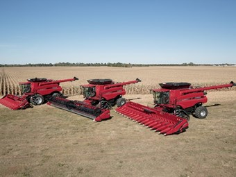 Case IH unveils new Axial-Flow combines for 2015 harvest