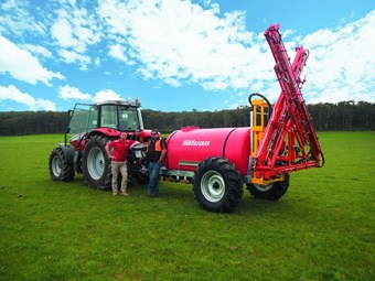 Dairy farmer turns to Silvan sprayer for greener pastures