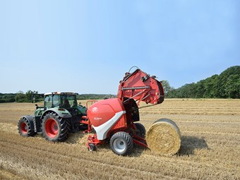 New round balers for Lely
