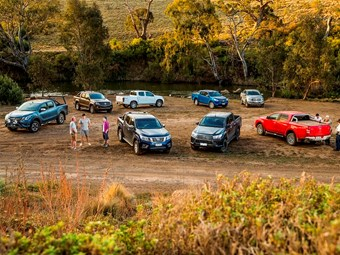 4X4 Ute Shootout part 1: Nissan Navara NP300 vs Mitsubishi Triton vs Isuzu D-Max vs Holden Colorado