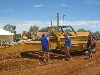 Versatile scraper built for variable soil conditions
