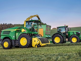 New John Deere forage harvester for 2019 debut