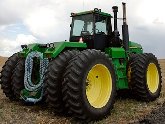 Challenging tractor sale conditions in May